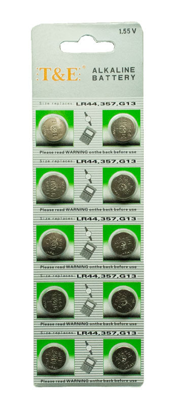 10 PC Alkaline Cell Batteries - Dallas General Wholesale