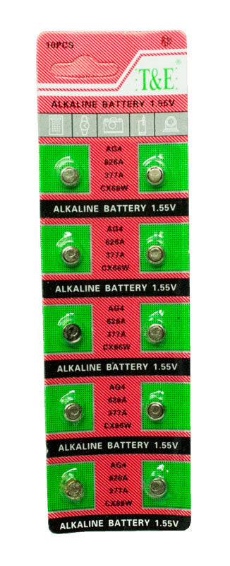 AG4 Cell Batteries - Dallas General Wholesale
