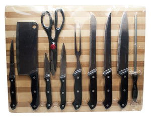 11 PC Knife Set - Dallas General Wholesale