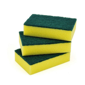 12 PC Sponge Scrubbers - Dallas General Wholesale