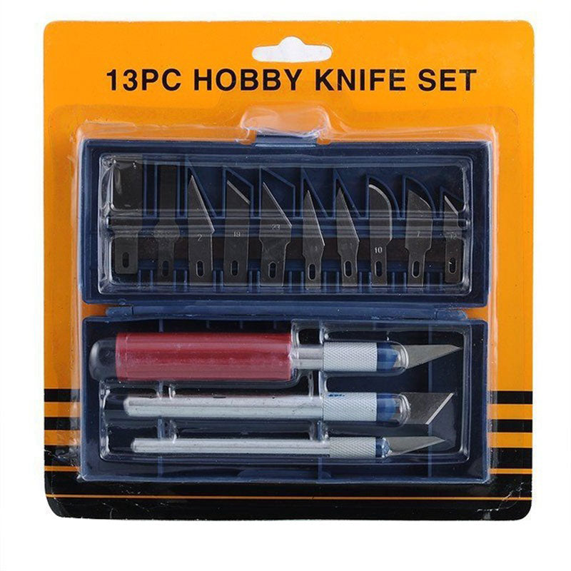 13 PC Hobby Knife Set Wholesale - Dallas General Wholesale