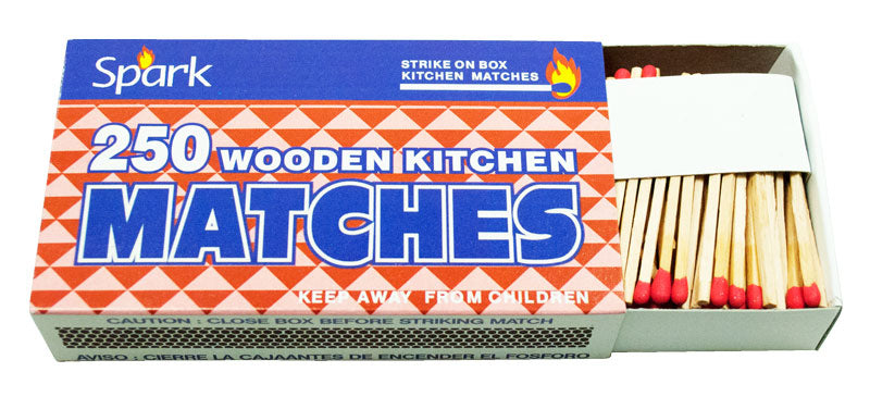 Matches -2 Pack 250 PC Each - Dallas General Wholesale