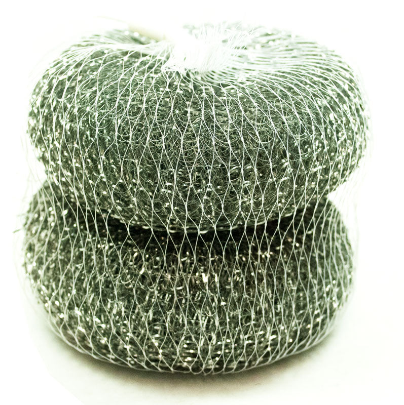 2 PC Metal Scrubbers Wholesale - Dallas General Wholesale