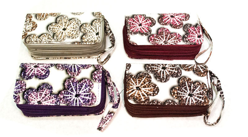 3-in-1 Key Chain Wallets with Daisy - Dallas General Wholesale