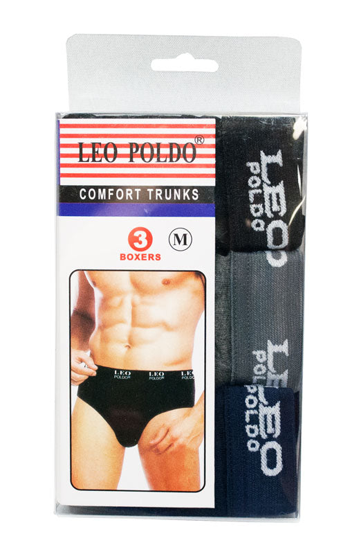 3 PC Men's Stretchy Underwear - Dallas General Wholesale