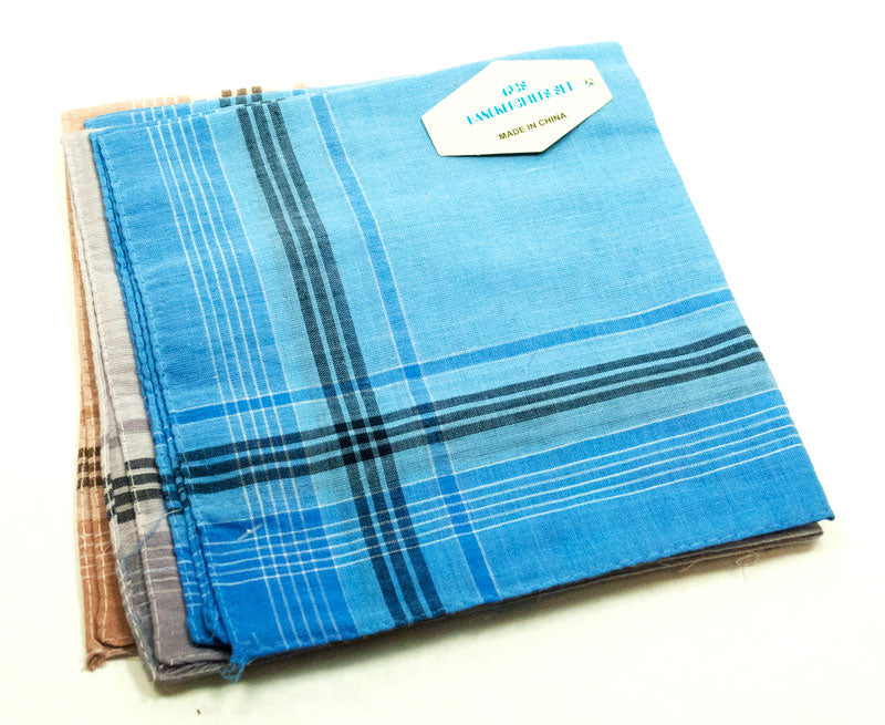 Pack of 4 Men Handkerchief Set - Dallas General Wholesale
