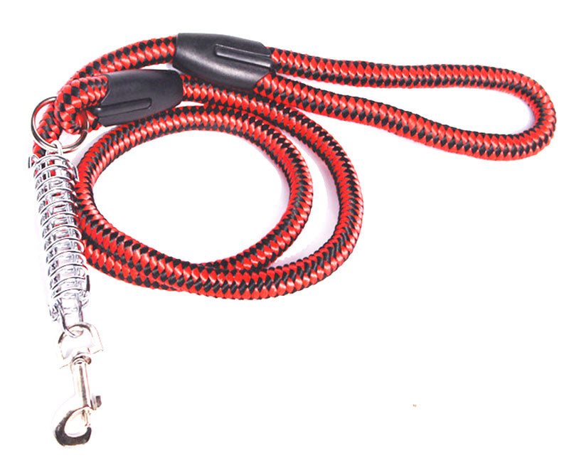 Thick Dog Leash with Metal Spring - Dallas General Wholesale