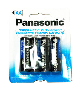 4 PC Panasonic AA Battery - Dallas General Wholesale