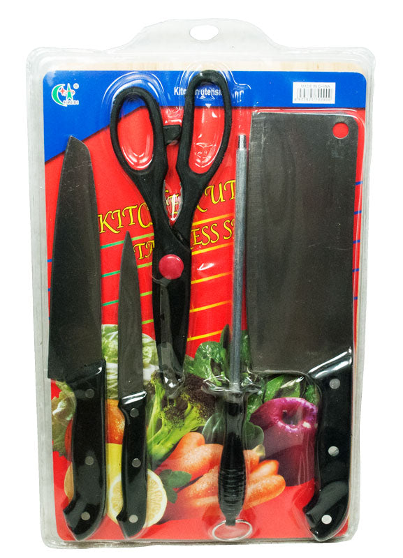 6 PC Knife Set - Dallas General Wholesale