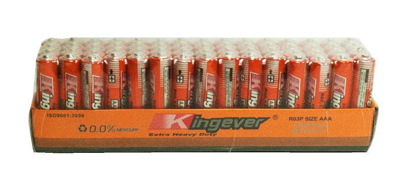 60 PC Carbon AAA Battery - Dallas General Wholesale
