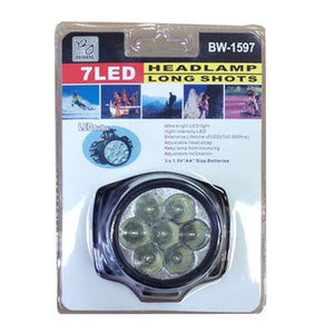 7 LED Head Lamps Wholesale - Dallas General Wholesale