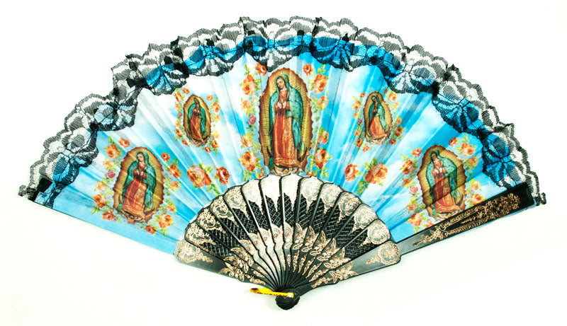 Saint Mother Mary Print Folding Fan - Dallas General Wholesale
