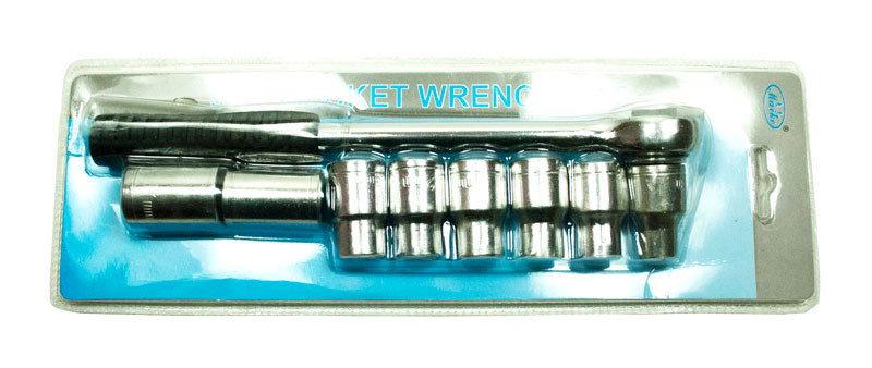 9 PC Socket Wrench Set - Dallas General Wholesale
