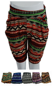 Printed Silky Capris - Dallas General Wholesale