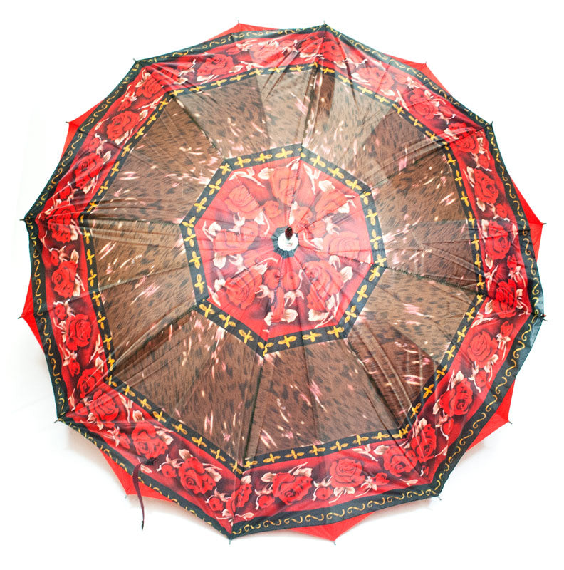 Double Layered Adults Printed Umbrellas Wholesale - Dallas General Wholesale