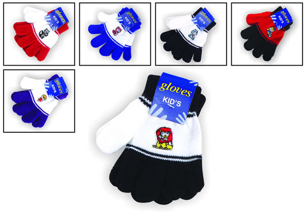 Little Kids Carton Gloves Wholesale - Dallas General Wholesale