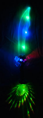 Light Up Flashing Skull Swords - Dallas General Wholesale