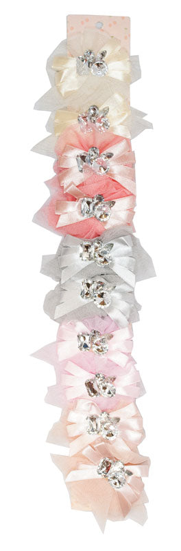 Fashion Hair Bows with Jewels - Dallas General Wholesale