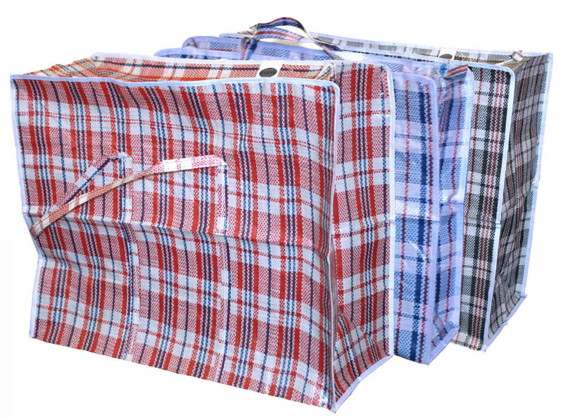 Zipper Shopping Bags - Dallas General Wholesale