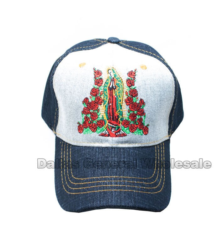 Lady Guadalupe Adults Casual Caps Wholesale - Dallas General Wholesale