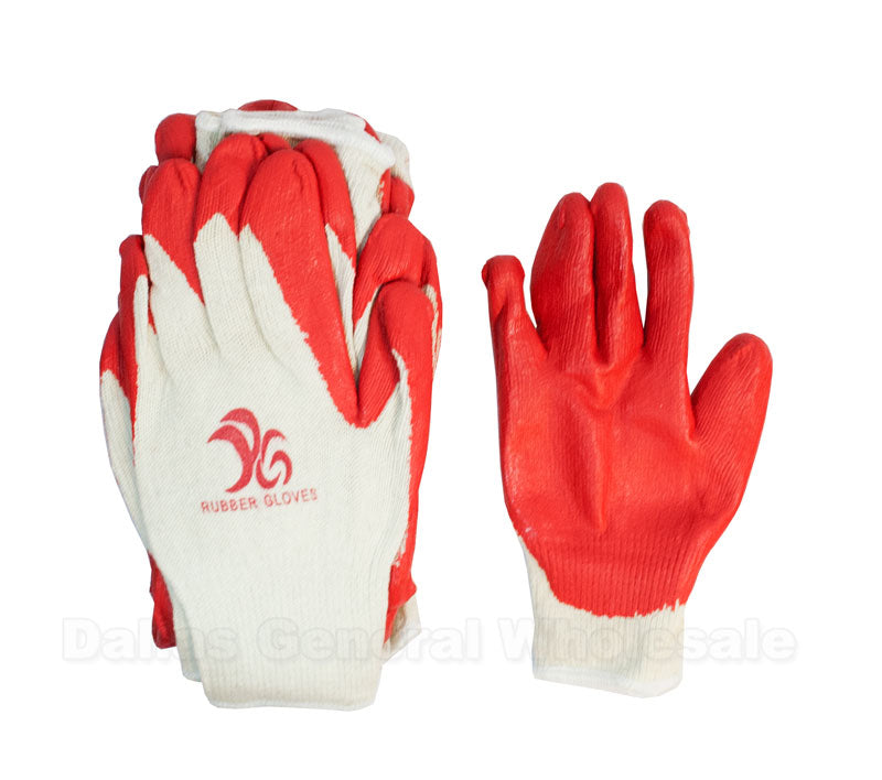 10 Pair Rubber Gloves Wholesale - Dallas General Wholesale