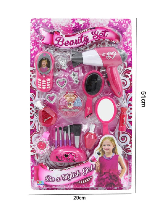 20 PC Girls Pretend Play Beauty Toys Wholesale - Dallas General Wholesale