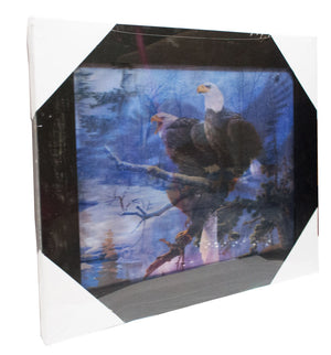 3D Picture of Flying Eagle with Frame Wholesale - Dallas General Wholesale