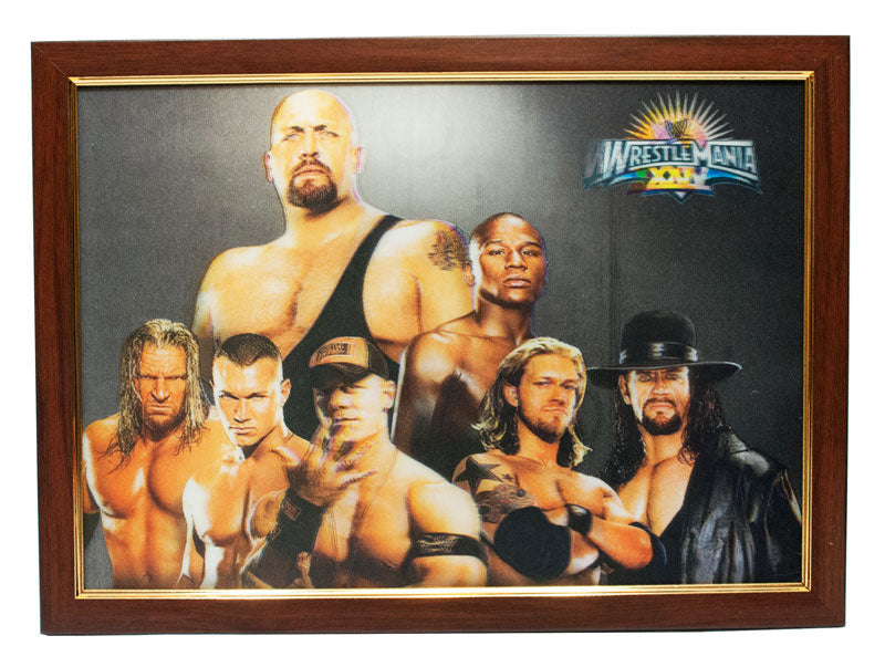 3D Picture Frame of Wrestle Mania Wholesale - Dallas General Wholesale