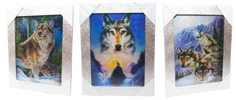 3D Picture of Wolves Wholesale - Dallas General Wholesale