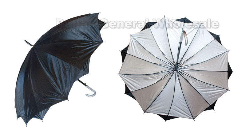 Double Layer Tinted Automatic Umbrellas Wholesale - Dallas General Wholesale