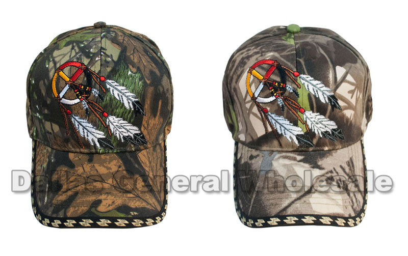 Dreamcatcher Camouflage Casual Caps Wholesale - Dallas General Wholesale