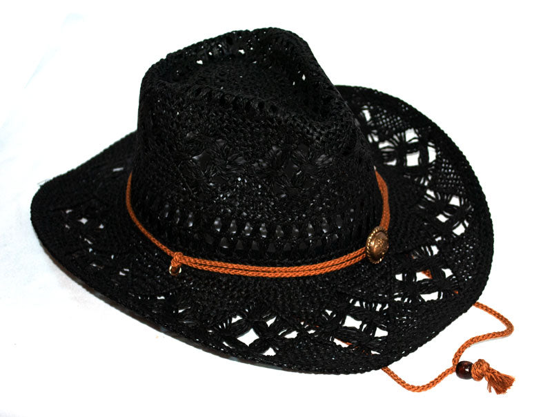 Ladies Fashion Straw Cowboy Hats Wholesale - Dallas General Wholesale