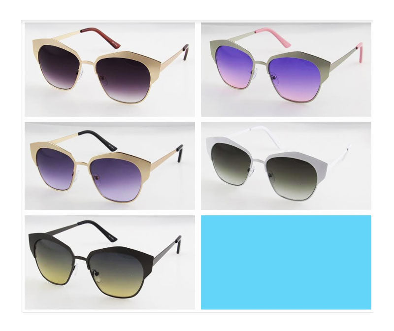 Trendy Mirror Lenses Sunglasses Wholesale - Dallas General Wholesale