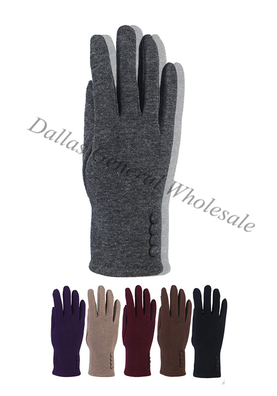 Ladies Fashion Fleece Lining Gloves Wholesale