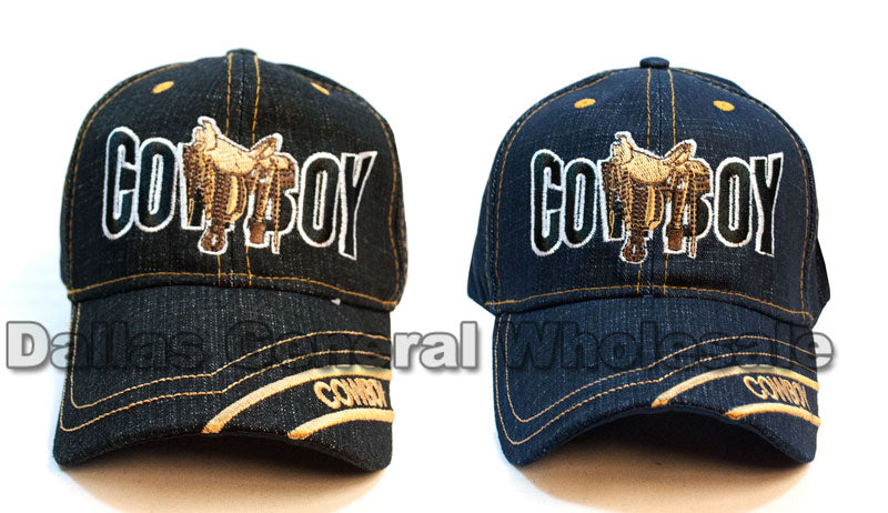 Cowboy Designed Fashion Baseball Caps Wholesale - Dallas General Wholesale