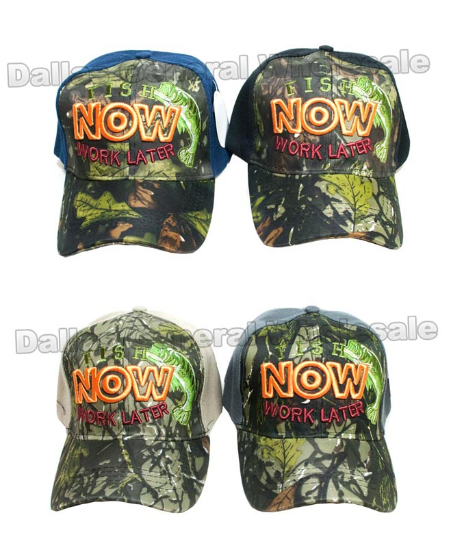 Casual Fishing Caps Wholesale