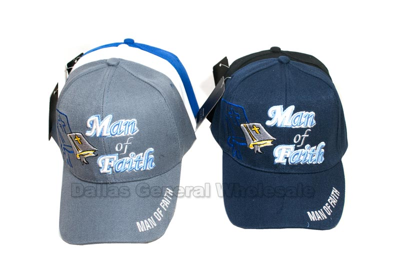 """Men of Faith"" Casual Baseball Caps Wholesale"
