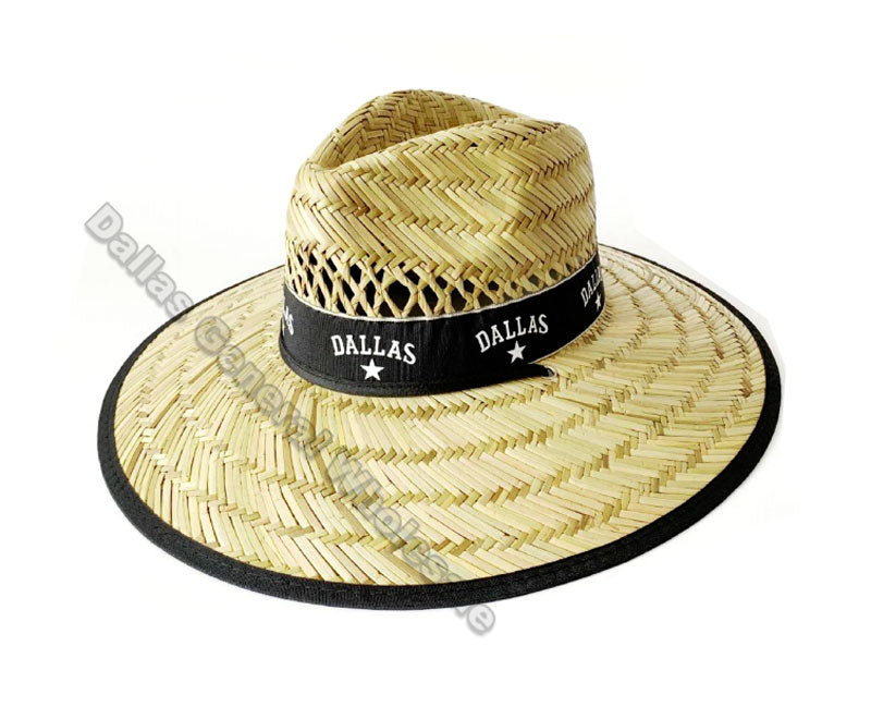 Adults Dallas Straw Hats Wholesale - Dallas General Wholesale