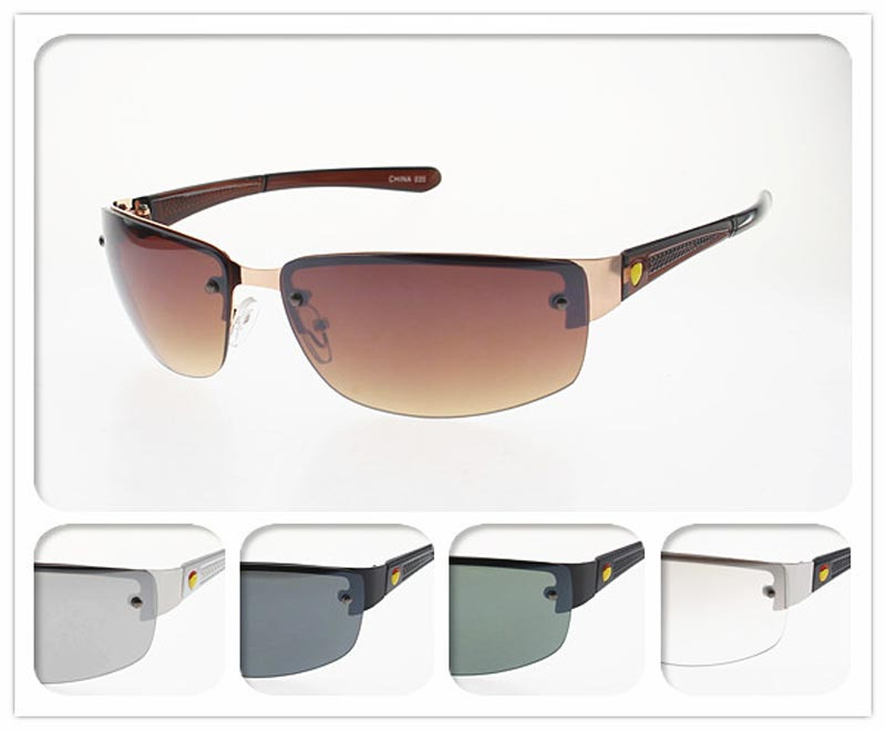 Men Metal Frame Sunglasses Wholesale