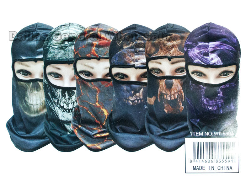 Printed Outdoors Ninja Masks Balaclava Wholesale - Dallas General Wholesale