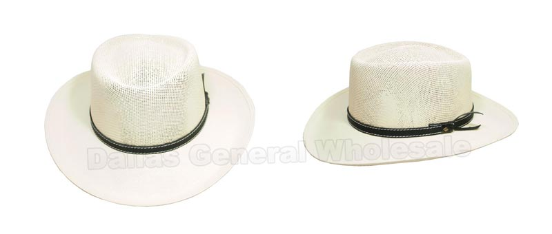Men Sheriff Dress Hats Wholesale