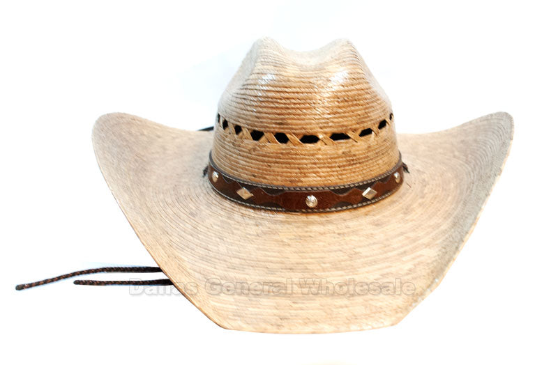 Fashion Cowboy Sombrero Straw Hats Wholesale - Dallas General Wholesale