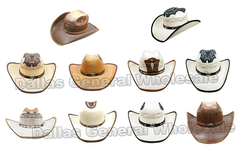 Western Ivory Cowboy Rodeo Hats Wholesale - Dallas General Wholesale
