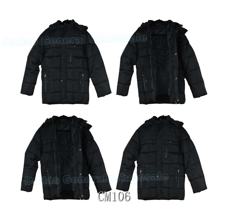 Men Padded Outwear Jackets Wholesale - Dallas General Wholesale