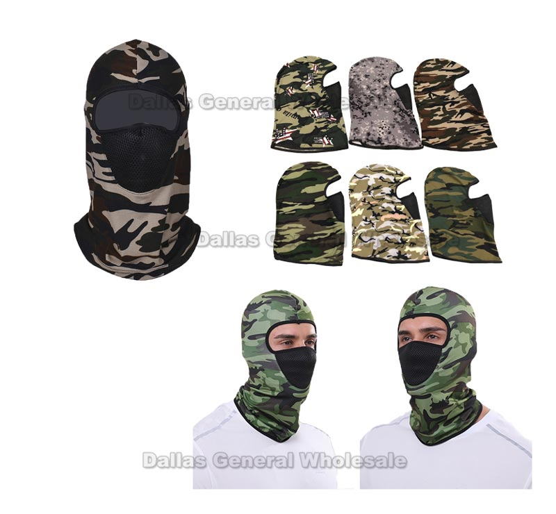 Camouflage Outdoors Masks Balaclava Wholesale