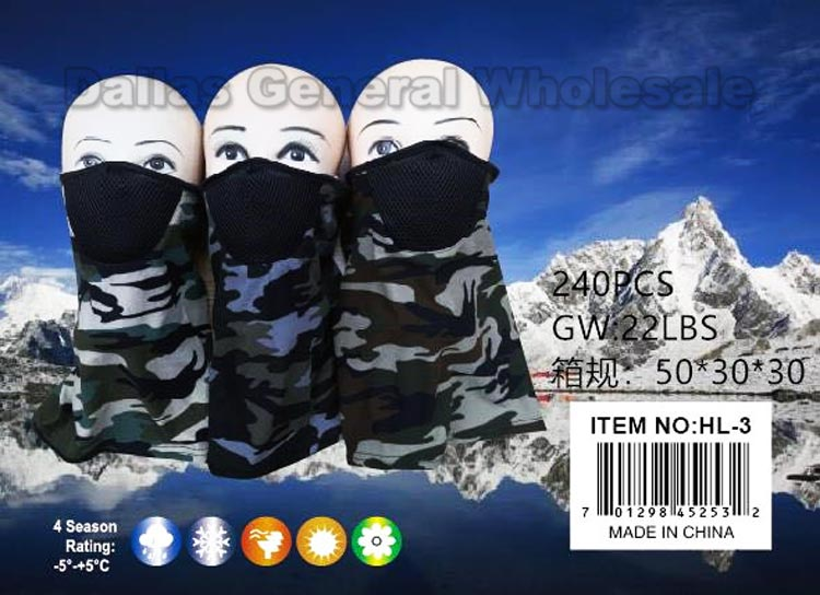 Outdoors Masks Balaclava w/ Mouth Guard Wholesale