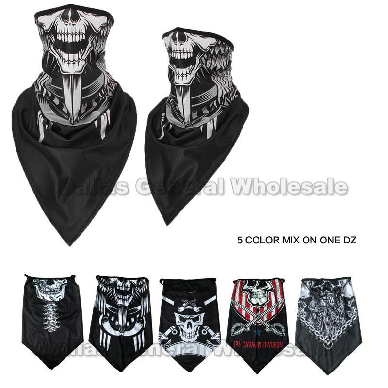Skull Design Half Face Masks Balaclavas Wholesale