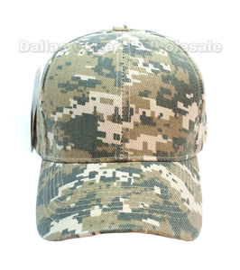 Digital Camouflage Casual Ball Caps Wholesale - Dallas General Wholesale