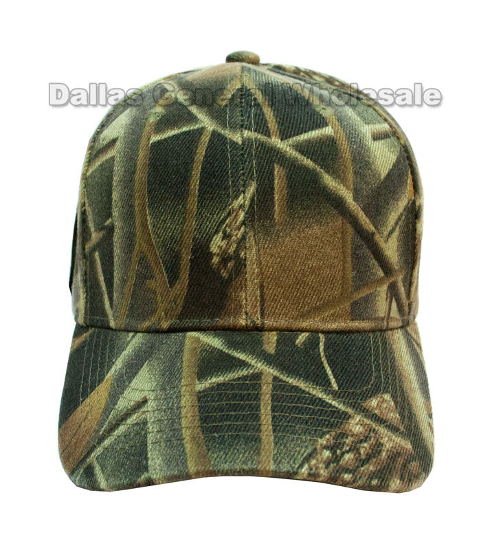 Forest Camouflage Casual Ball Caps Wholesale - Dallas General Wholesale