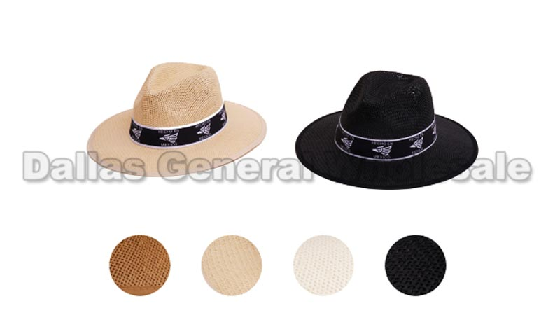 Men Mexico Panama Straw Dress Hats Wholesale